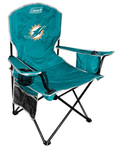 Miami Dolphins Cooler Quad Chair