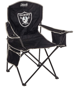 Oakland Raiders Cooler Quad Chair