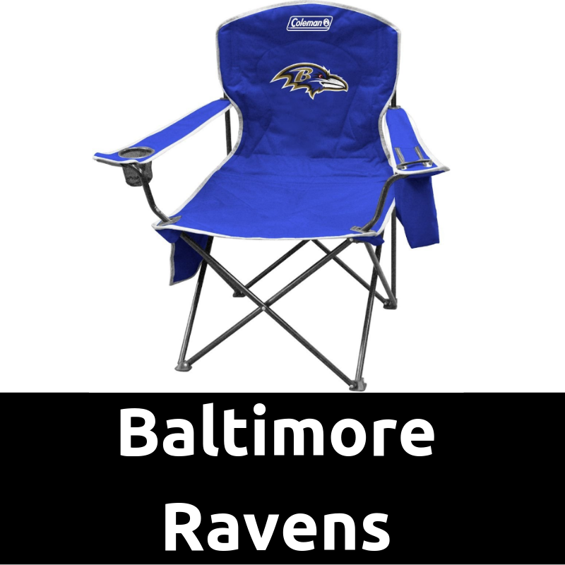 UltimateTailgatingGear_Baltimore Ravens Cooler Quad Chair