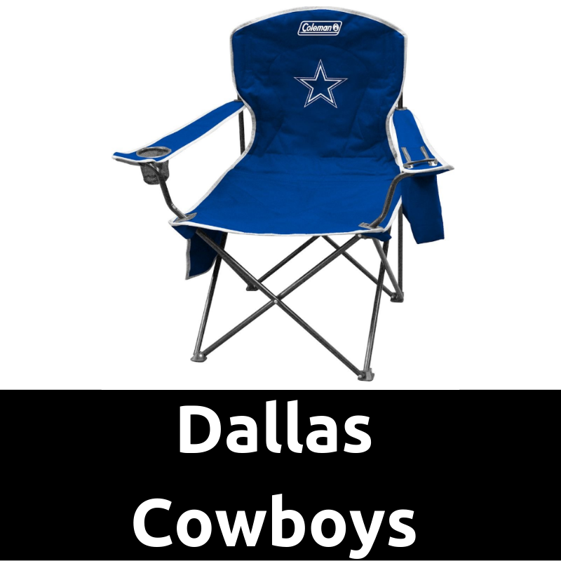 Ultimate Tailgating Gear_Dallas Cowboys Cooler Quad Chair