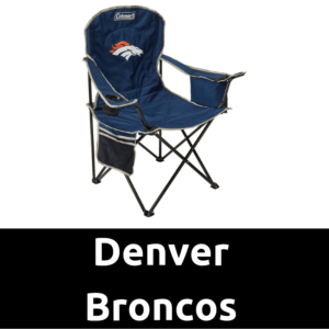 Ultimate Tailgating Gear_Denver Broncos Cooler Quad Chair