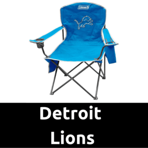 Ultimate Tailgating Gear_Detroit Lions Cooler Quad Chair