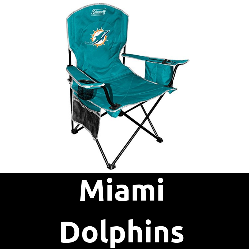 Ultimate Tailgating Gear_Miami Dolphins Cooler Quad Chair