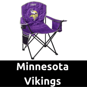 Ultimate Tailgating Gear_Minnesota Vikings Cooler Quad Chair