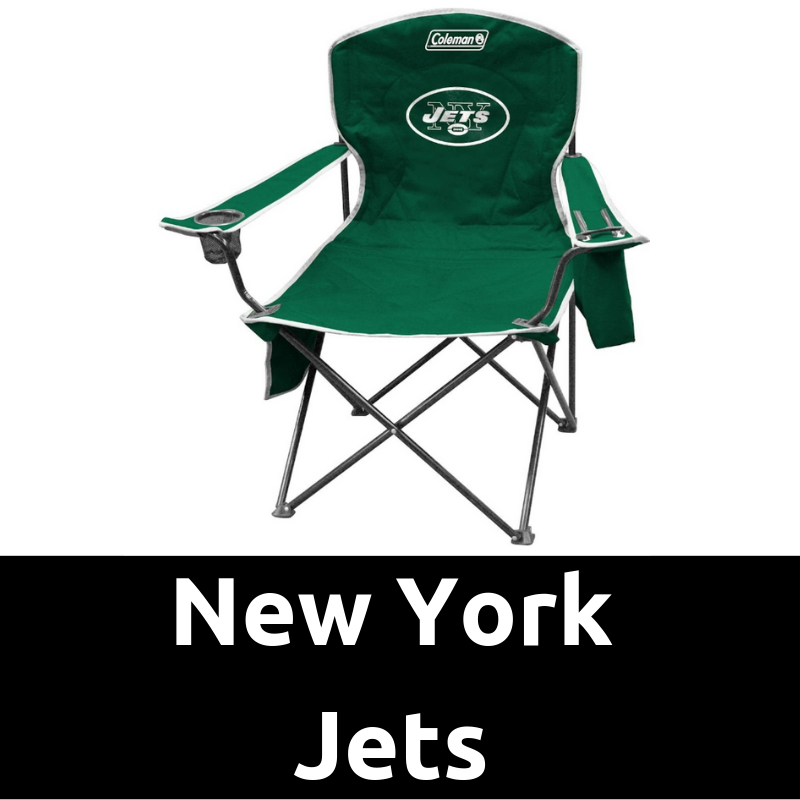 Ultimate Tailgating Gear_New York Jets Cooler Quad Chair