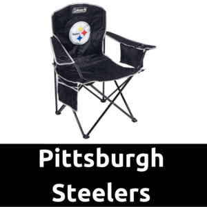 Ultimate Tailgating Gear_Pittsburgh Steelers Cooler Quad Chair