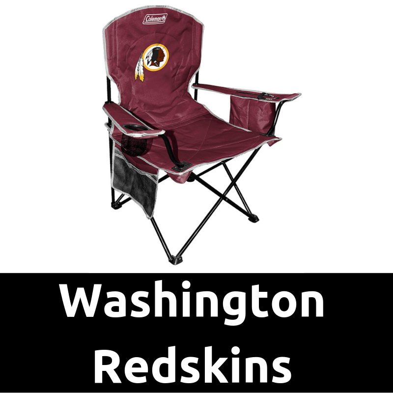 Ultimate Tailgating Gear Washington Redskins Cooler Quad Chair