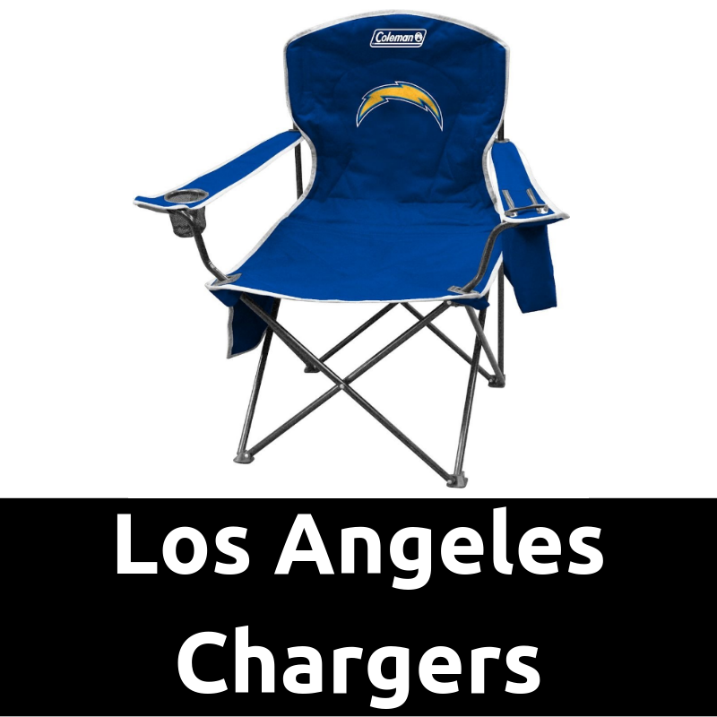 Ultimate Tailgating Gear_Los Angeles Chargers Cooler Quad Chair